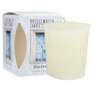Blue Door  Boxed Votive Candle